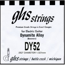 Струны для электрогитары GHS Strings DY52