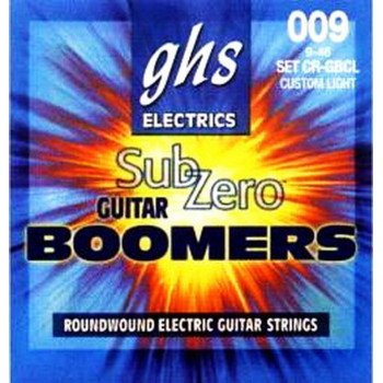 Струны для электрогитары GHS Strings Sub-Zero Boomers Set