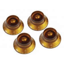 Gibson PRHK-030 Top Hat Knobs Amber