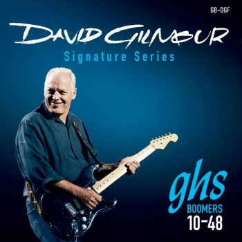 Струны для электрогитары GHS Strings David Gilmour Blue Signature
