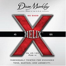 Струны для бас-гитары Dean Markley 2614 Helix HD Bass Ss ML 45-105
