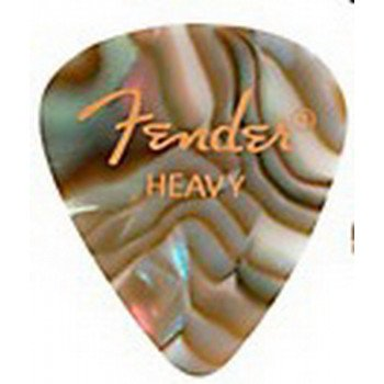 Fender 351 Premium Celluloid Abalone Heavy