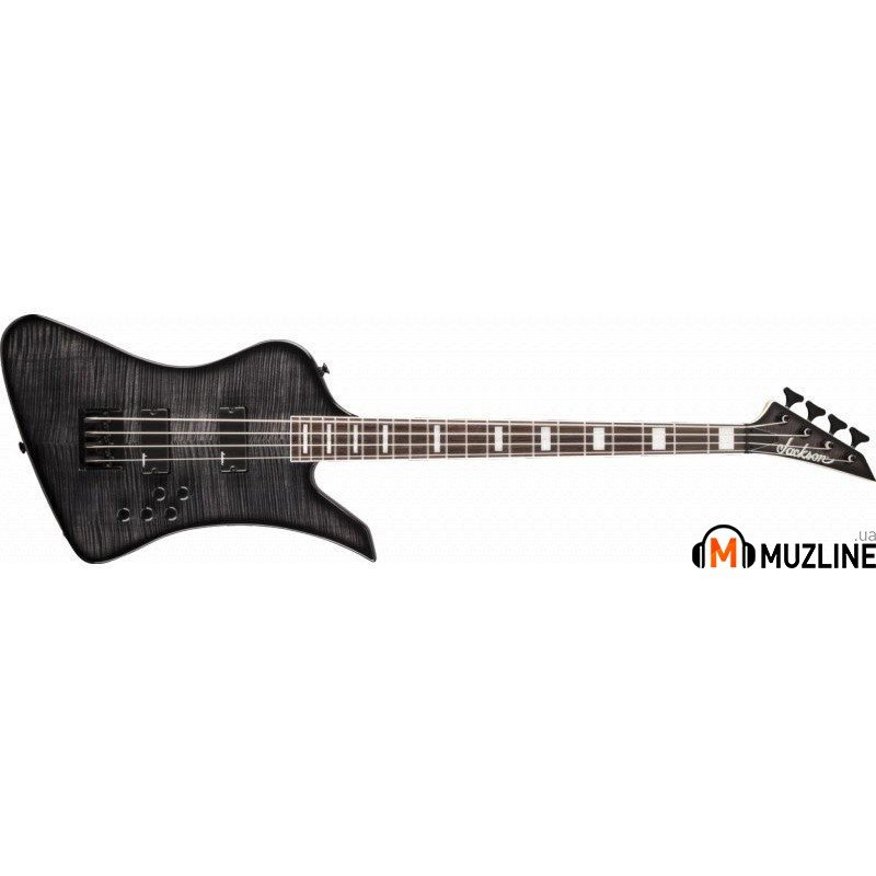 Бас-гитара Jackson JS3 Kelly Bird IV Bass RW Trans Black