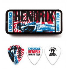 Dunlop JHPT09M Jimi Hendrix Tribute Tour Pick Tin Medium