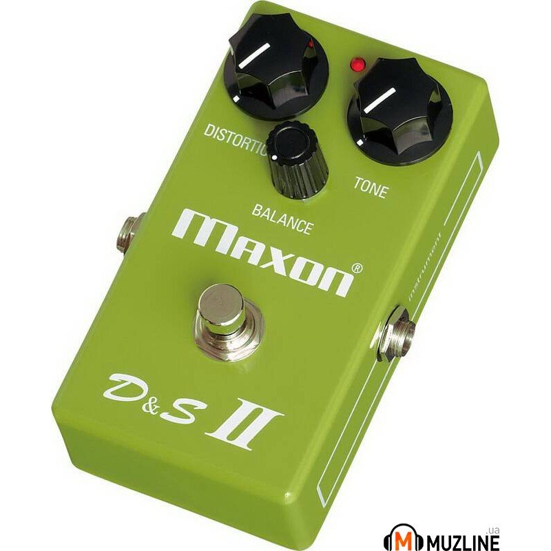 Гитарная педаль Maxon D and SII Distortion and Sustainer II