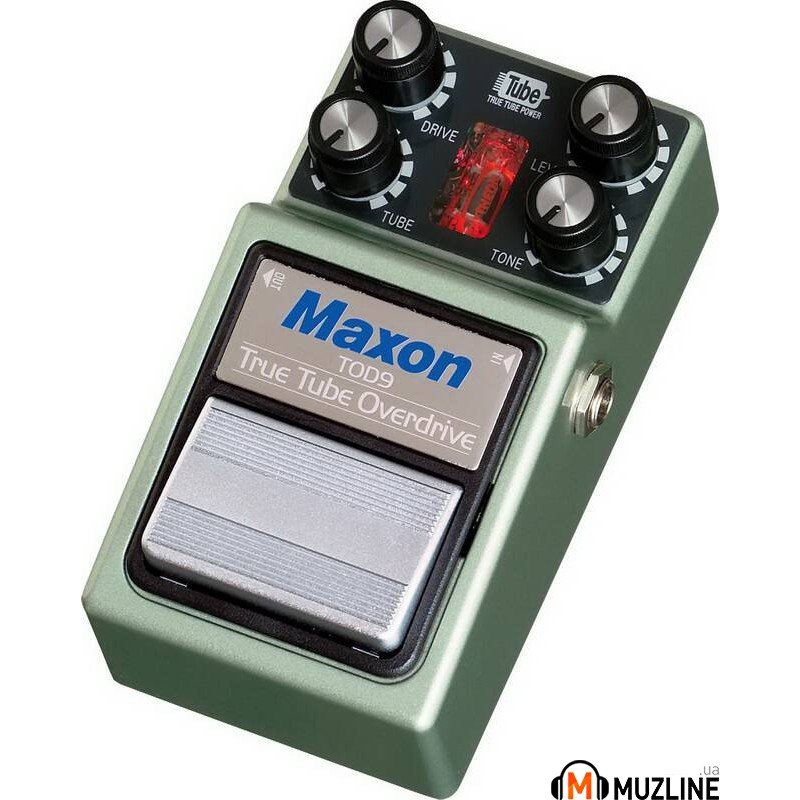 Гитарная педаль Maxon TOD9 True Tube Overdrive