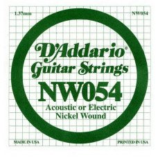 Струны для электрогитары D'Addario NW054 XL Nickel Wound 054