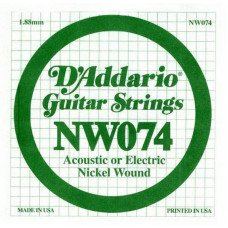 Струны для электрогитары D'Addario NW074 XL Nickel Wound 074