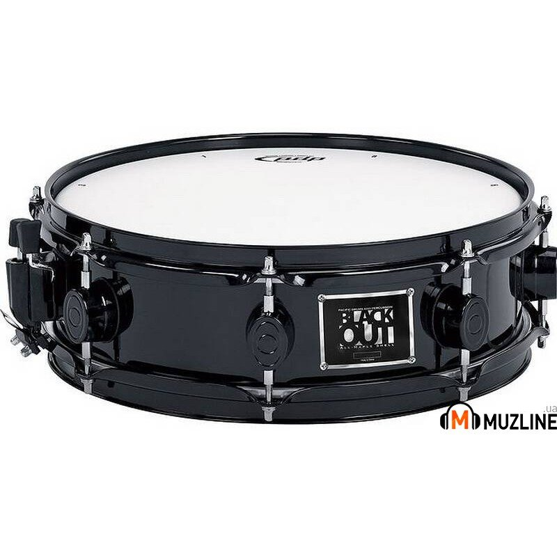 "PDP PDBB0514 Blakcout Maple Snare Drum 14""X5"""