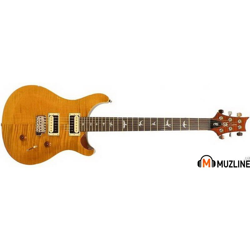 Электрогитара PRS SE Custom 24 Vintage Yellow