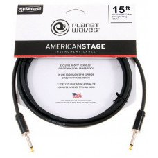 Инструментальный кабель Jack - Jack Planet Waves PW-AMSG-15 American Stage 15Ft