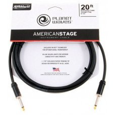 Инструментальный кабель Jack - Jack Planet Waves PW-AMSG-20 American Stage 20Ft