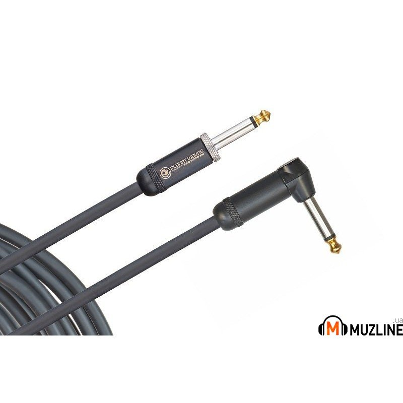 Инструментальный кабель Jack - Jack Planet Waves PW-AMSGRA-20 American Stage, Right To Straight, 20Ft