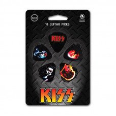 Planet Waves PW1CBK2-10K3 Kiss Picks - Kiss Alive Ii Light