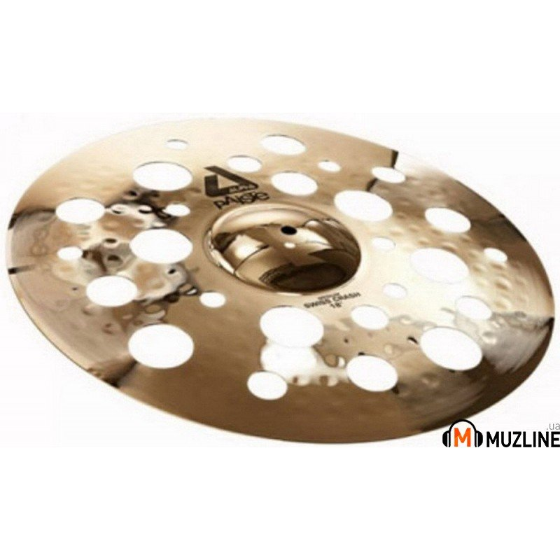 Crash Paiste Alpha Brilliant Medium Swiss Crash 18""