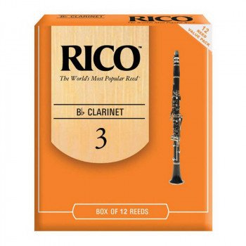 Трость Rico Rico - RCA1230 - Bb Clarinet #3.0 - 12 Box