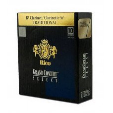 Трость Rico Grand Concert Select - Bb Clarinet #3.5 - 10 box