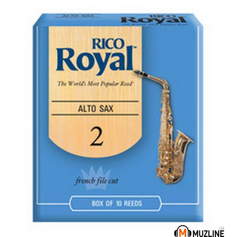 Трость Rico Rico Royal - Alto Sax #2.0 - 10 Box