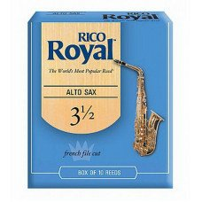 Трость Rico Rico Royal - Alto Sax #3.5 - 10 Box