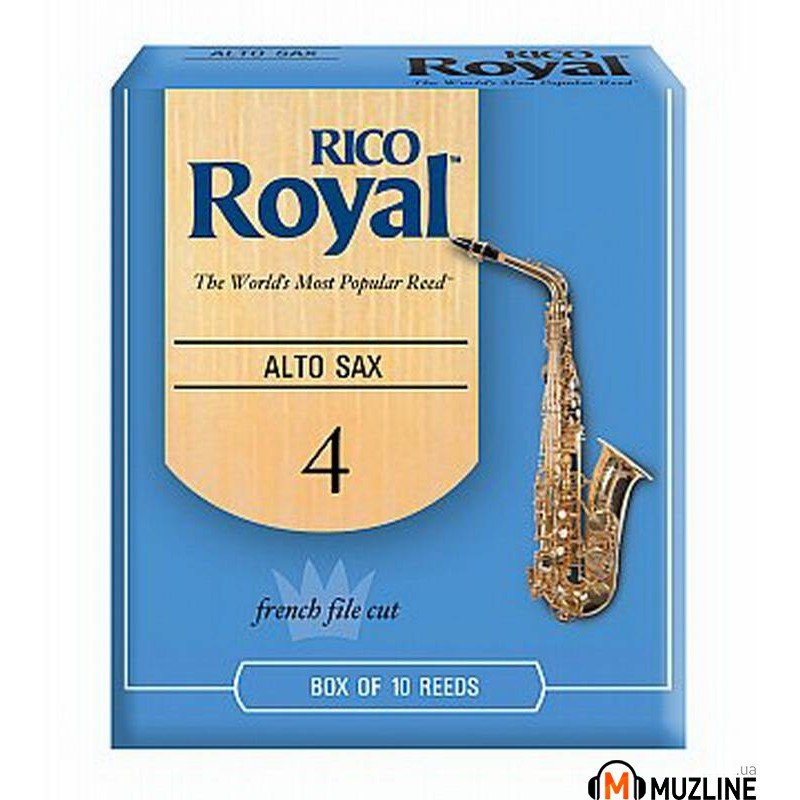 Трость Rico Rico Royal - Alto Sax #4.0 - 10 Box