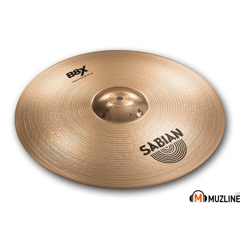 "Crash Sabian 18"" B8X Rock Crash"