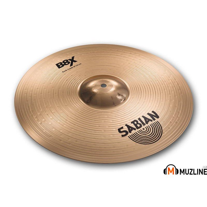 "Crash Sabian 16"" B8X Rock Crash"