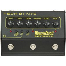 Гитарная педаль Tech 21 SansAmp Bass Driver DI Programmable