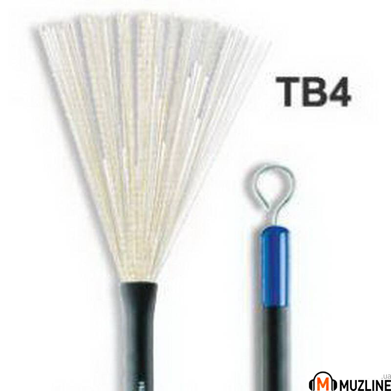 Барабанные щетки Promark TB4 Telescopic Wire Brush