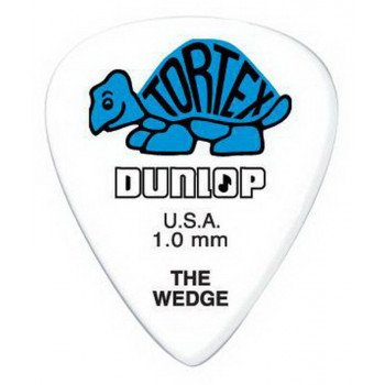 Dunlop 424P1.0 Tortex Wedge Player's Pack 1.0
