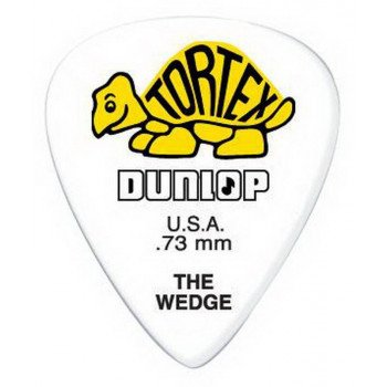 Dunlop 424P.73 Tortex Wedge Player's Pack 0.73
