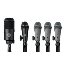 Инструментальный микрофон Telefunken DD5 Dynamic Drum Mic Pack
