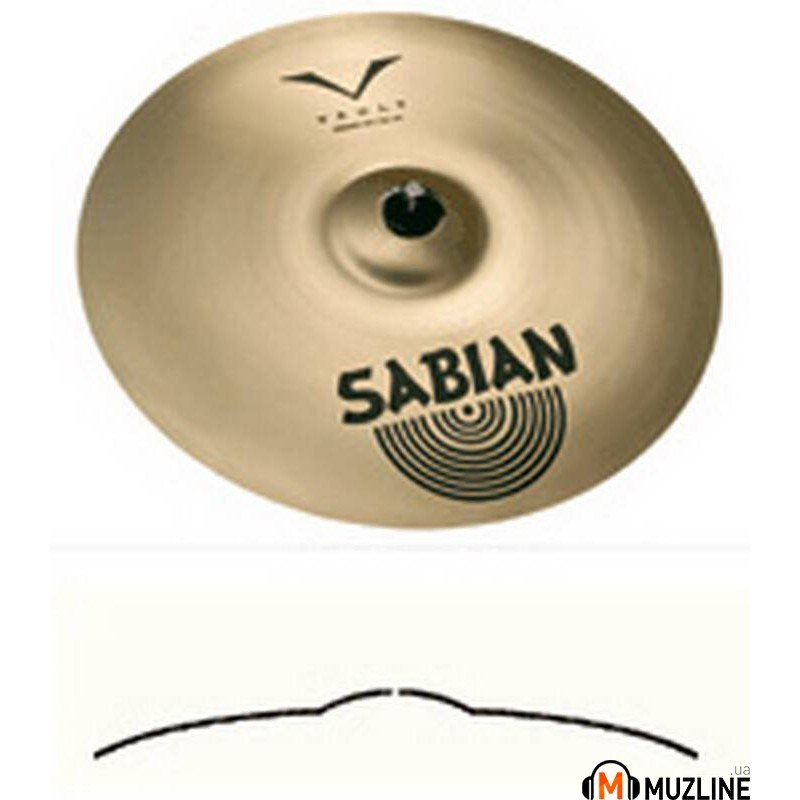 "Crash Sabian 17"" AAX V-Crash Brilliant"