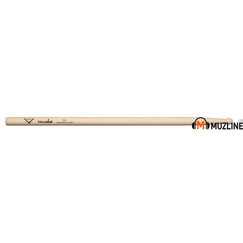 Барабанные палочки Vater VHN3AW American Hickory Nude 3A