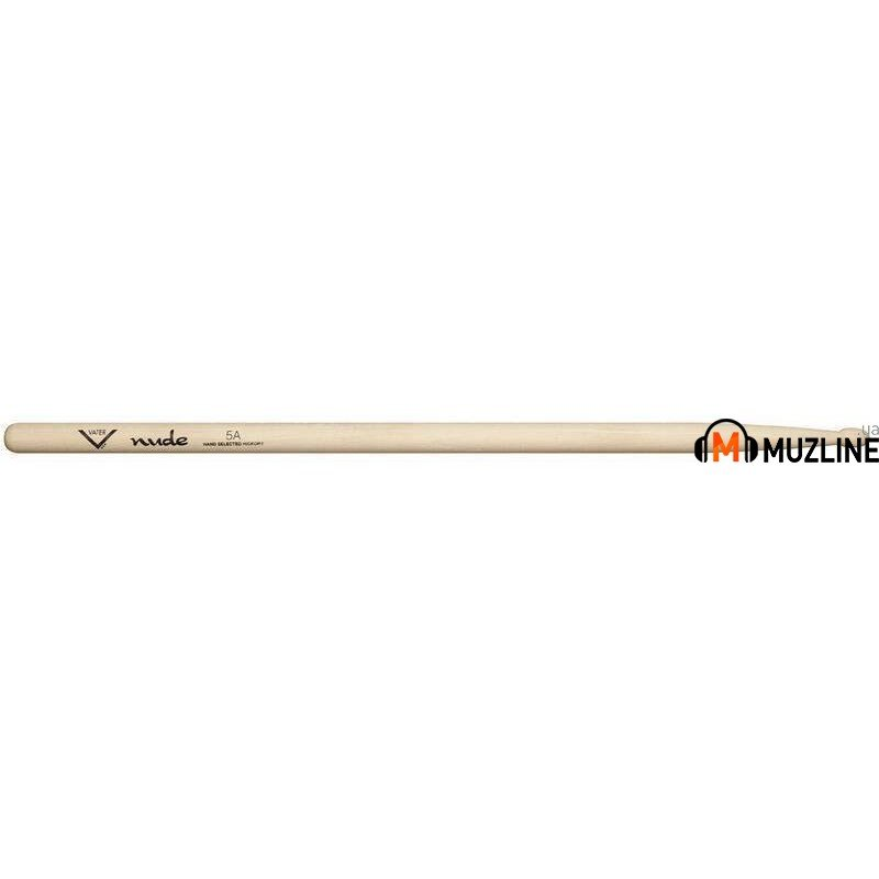 Барабанные палочки Vater VHN5AW American Hickory Nude 5A