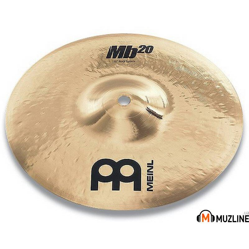 "Meinl MB20 12"" Rock Splash Brilliant"
