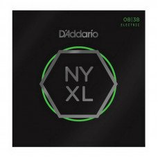 Струны для электрогитары D'Addario NYXL0838 Extra Super Light 08-38