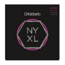 Струны для электрогитары D'Addario NYXL0940Bt Balanced Tension Super Light 09-40
