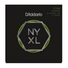 Струны для электрогитары D'Addario NYXL1156 Medium Top  X-Heavy Bottom 11-56
