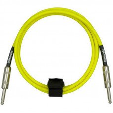 Инструментальный кабель Jack - Jack DiMarzio EP1710SS Instrument Cable 10Ft Neon Yellow