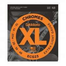 Струны для электрогитары D'Addario ECG23 Xl Chromes Extra Light 10-48