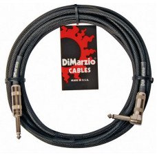 Инструментальный кабель Jack - Jack DiMarzio EP1715SR Instrument Cable 15Ft Black