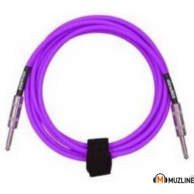Инструментальный кабель Jack - Jack DiMarzio EP1715SS Instrument Cable 15Ft Purple