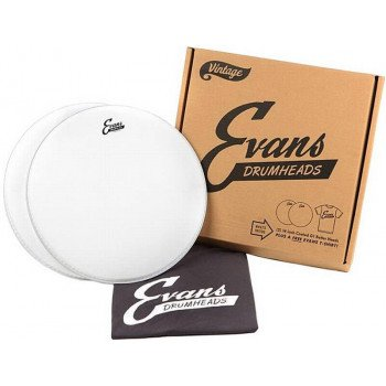 Evans EPP2B14G1V G1 Double Pack Plus T-Shirt