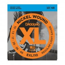 Струны для электрогитары D'Addario EXL110 Xl Regular Light 10-46