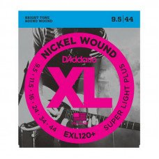 Струны для электрогитары D'Addario EXL120+ Xl Super Light Plus 09.5-44
