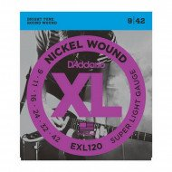 D'Addario EXL120 Xl Super Light 09-42