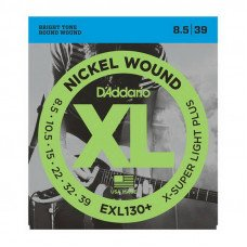 Струны для электрогитары D'Addario EXL130+ Xl Extra Super Light Plus 08.5-39