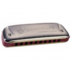 Губная гармошка Hohner Golden Melody Bb-Major