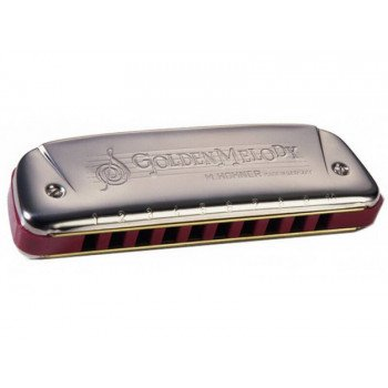Губная гармошка Hohner Golden Melody D-Major