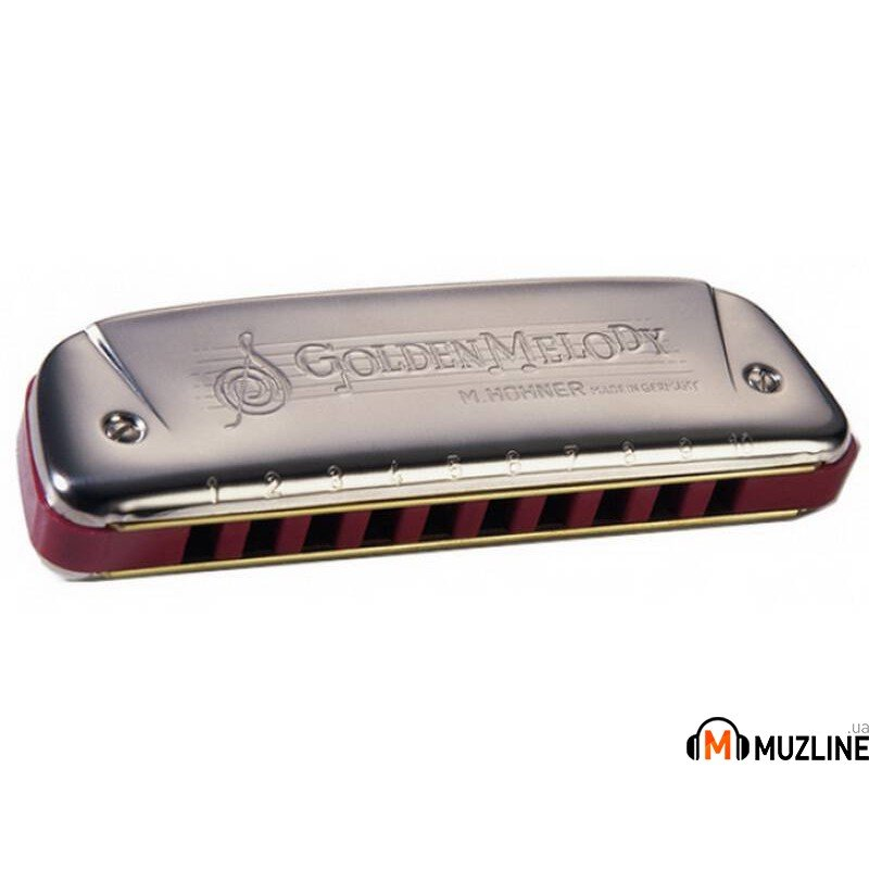 Губная гармошка Hohner Golden Melody F-Major